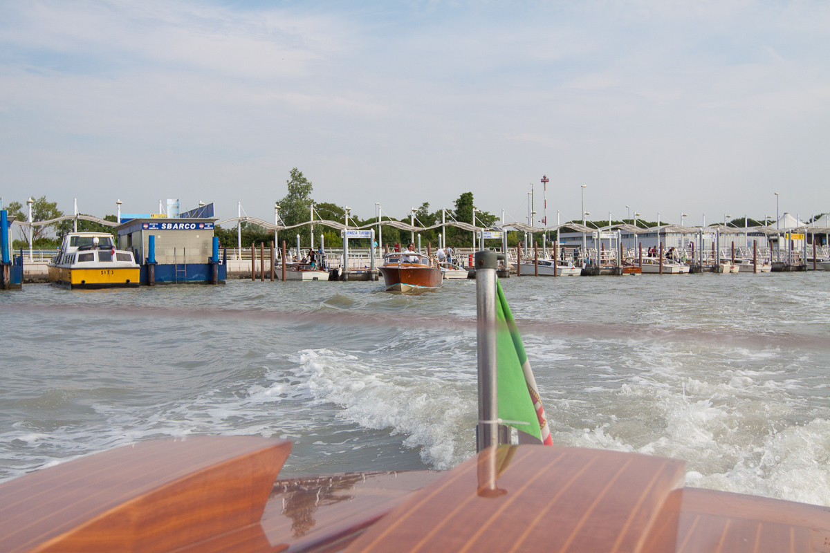 Private og delte Water Taxis